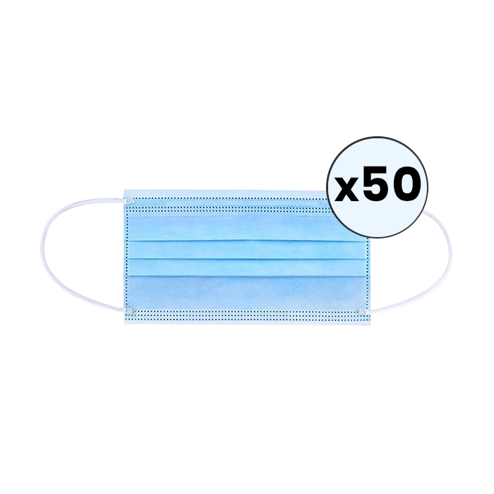 Disposable Surgical Face Mask - 50pk