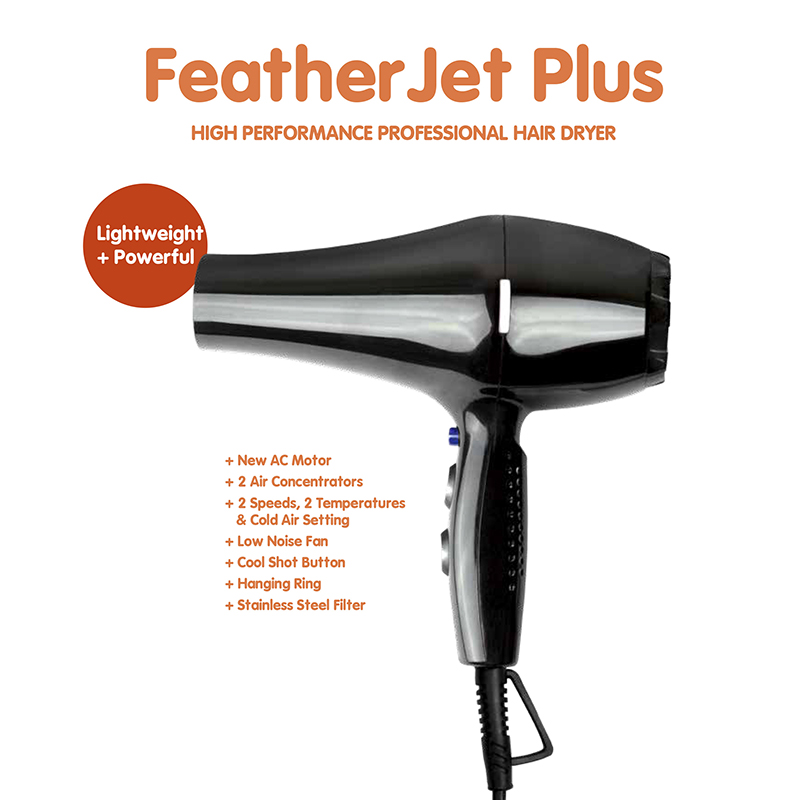 Fusion FeatherJet Plus Hair Dryer