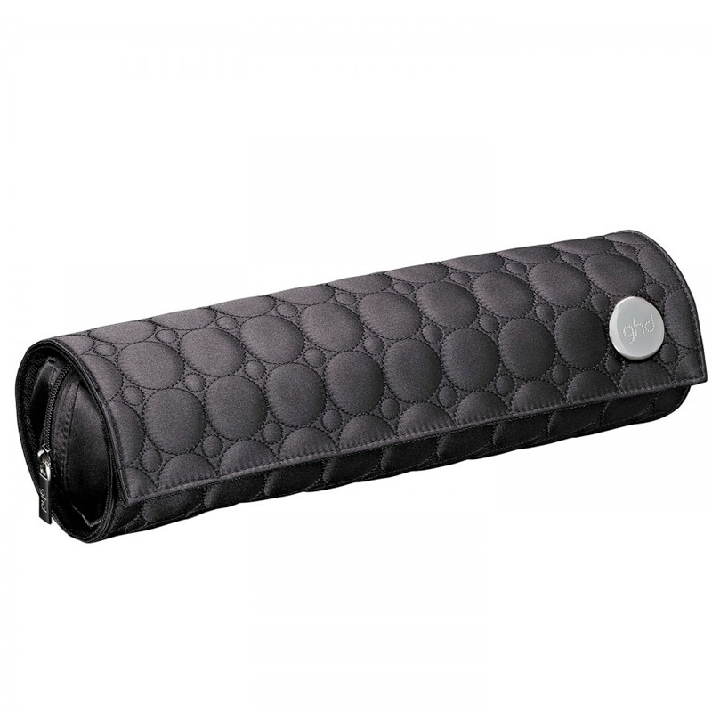 ghd Heat Resistant Roll Quilted Black Bag