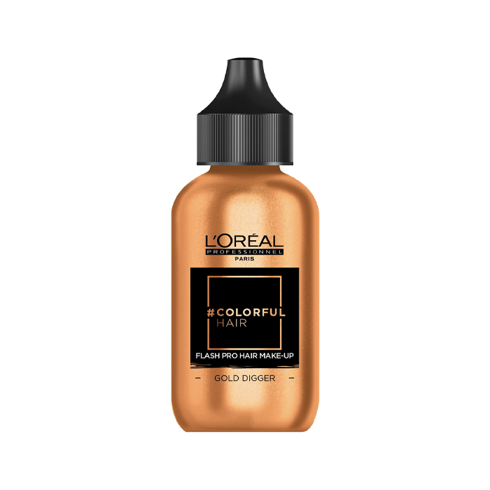 L'Oreal Professionnel Flash Pro Hair Make-Up Gold Digger 60ml