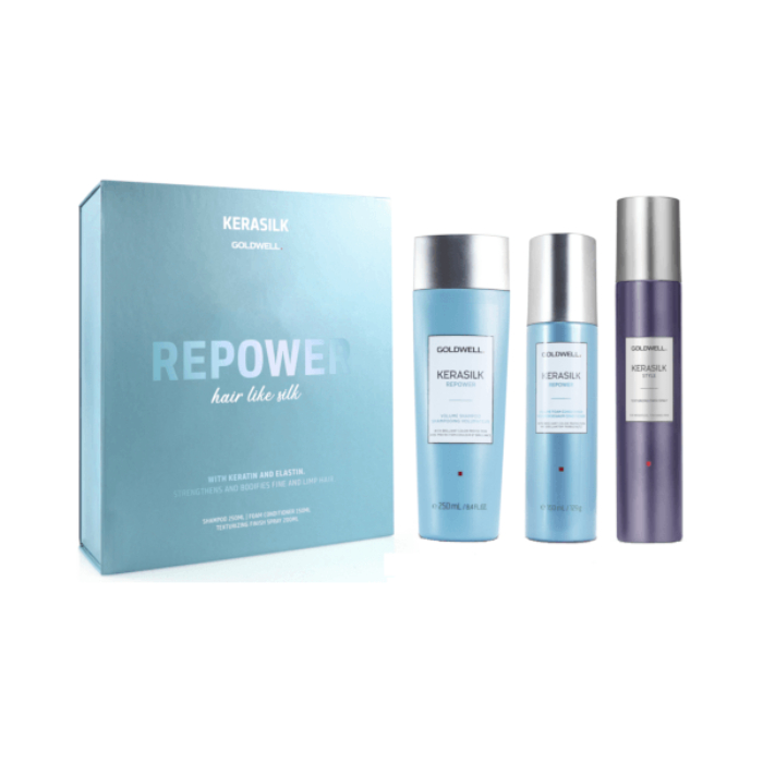 Goldwell Kerasilk Repower Trio
