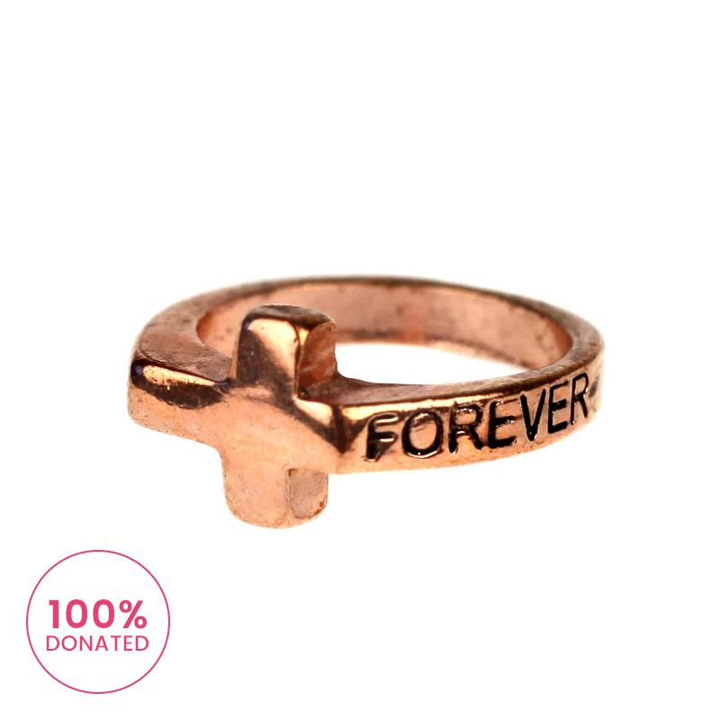 Atida Forever Pinkie Ring
