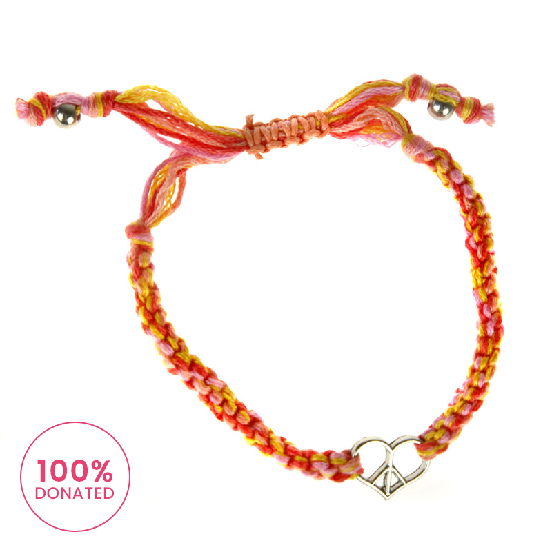 Atida Love Peace Bracelet