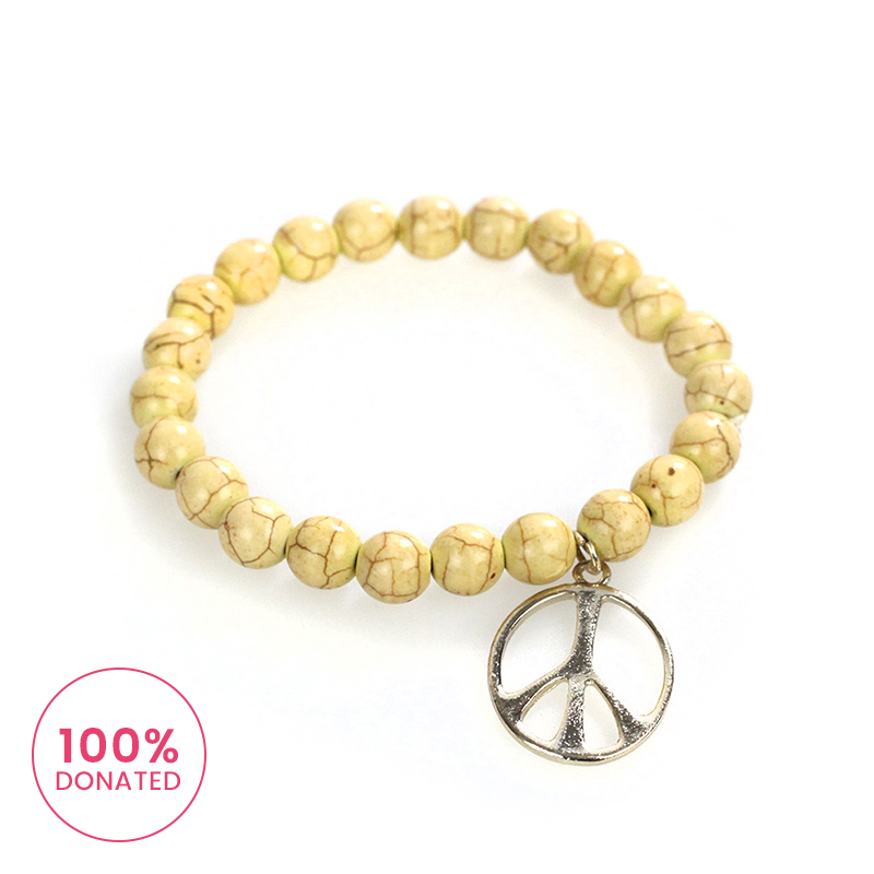 Atida Peace and Love Bracelet