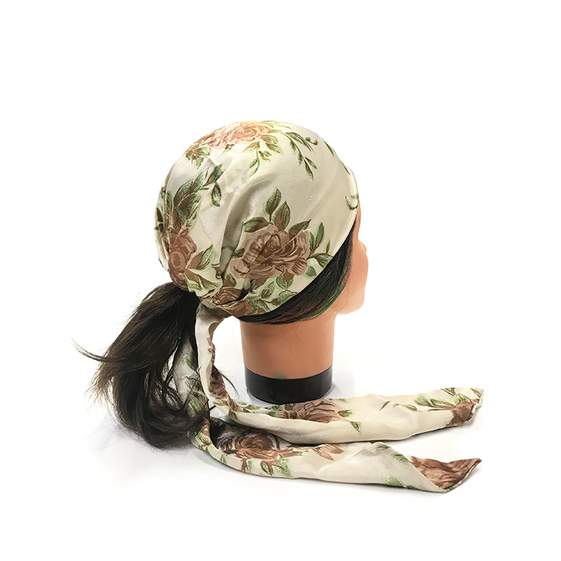 Catwalk Hair Accessories Floral Head Scarf