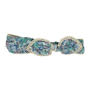 Catwalk Hair Accessories Blue Floral Headband