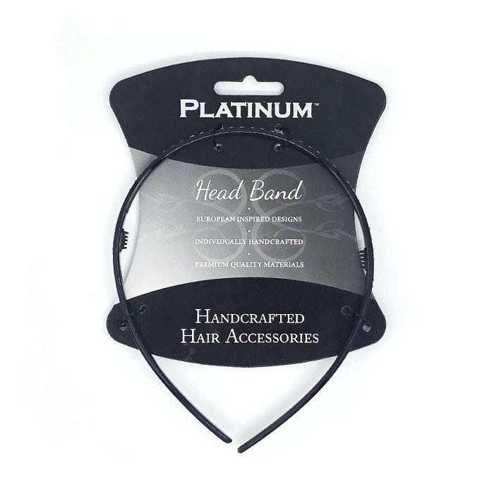 Cricket Platinum Diamond Thin Band