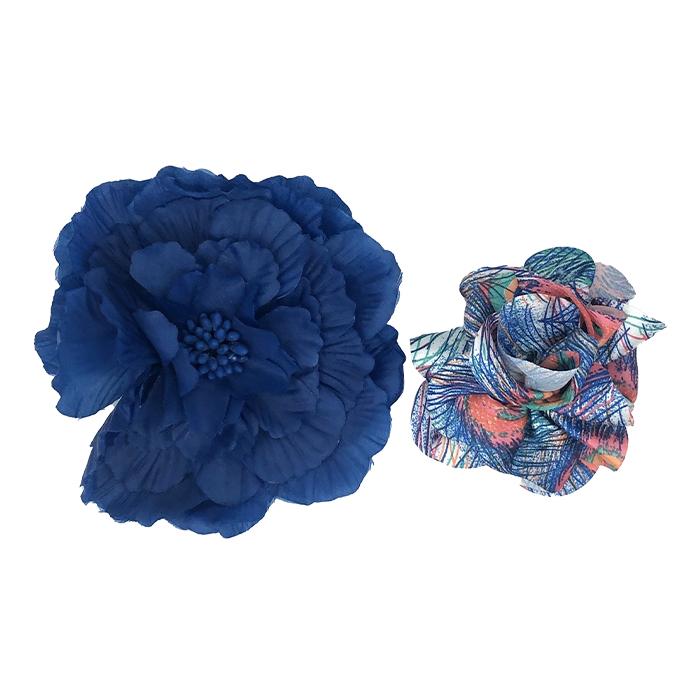 Catwalk Hair Accessories Flower Clip Assorted Duo
