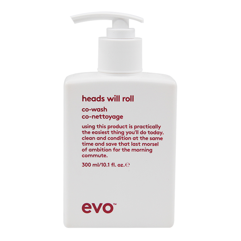 Evo Heads will Roll Co-Wash Cleansing Conditioner 300ml -  Catwalk Hair & Beauty Supplies Australia