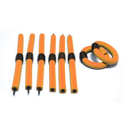 Soft Roller for Hair Orange 12 Pack