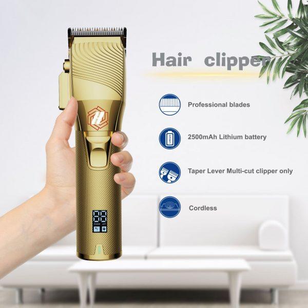 Hulk Professional Hair Clipper - Gold