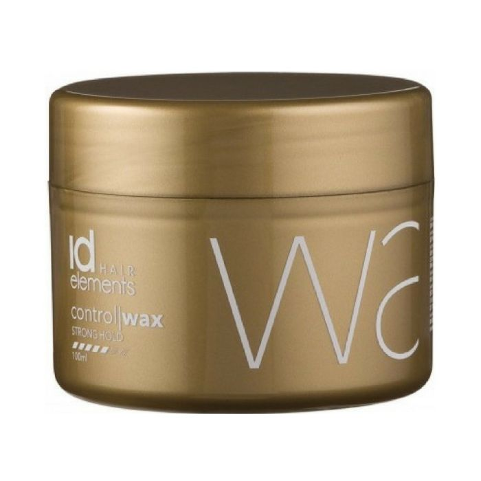 id Hair Elements Gold Control Wax Strong Hold 100ml