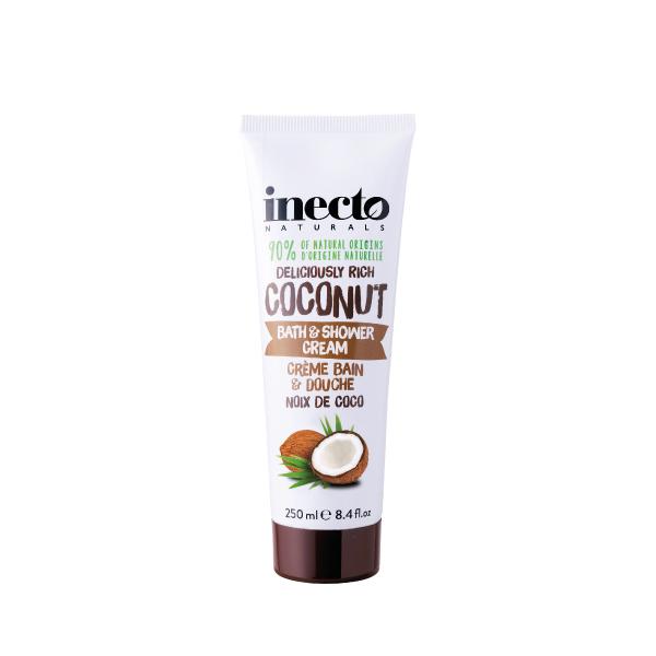 Inecto Coconut Bath & Shower Cream 250ml