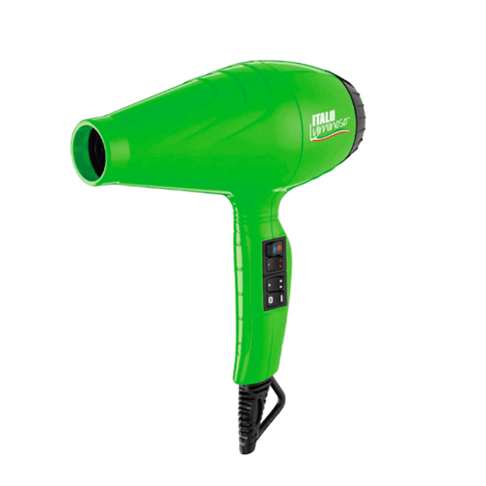 BaBylissPRO ITALO Luminoso Hair Dryer - Green