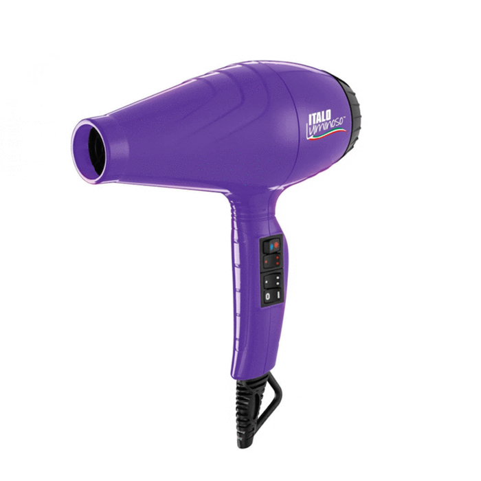 BaBylissPRO ITALO Luminoso Hair Dryer - Purple