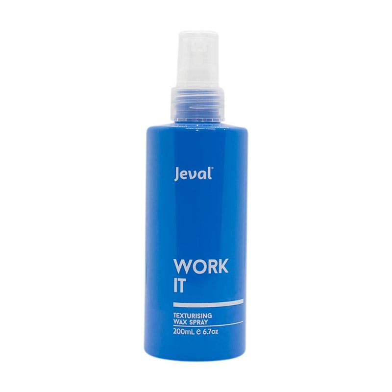 Jeval Work It Texturising Wax Spray 200ml