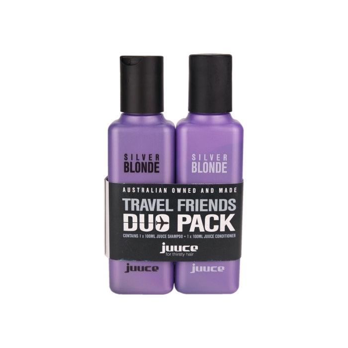 Juuce Silver Blonde Travel Friends Duo Pack
