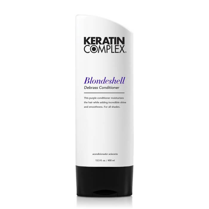 Keratin Complex Blondeshell Debrass & Brighten Conditioner 400ml