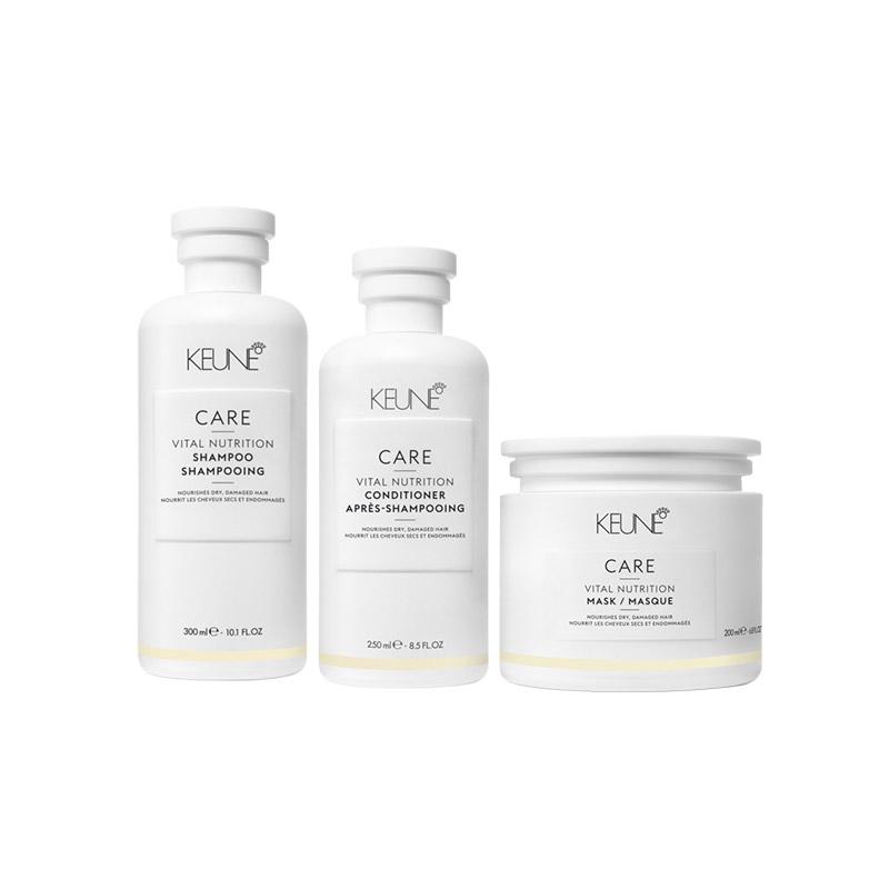 Keune Care Vital Nutrition Trio Pack - Available at Catwalk Hair & Beauty Store Australia