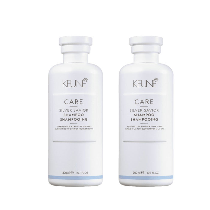 Keune Care Silver Saviour Shampoo Share Pack