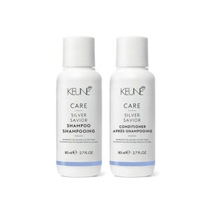 Keune Care Silver Saviour Travel Duo