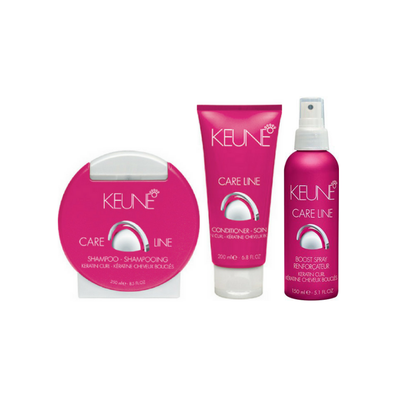 Keune Care Line Keratin Curl Boost Pack