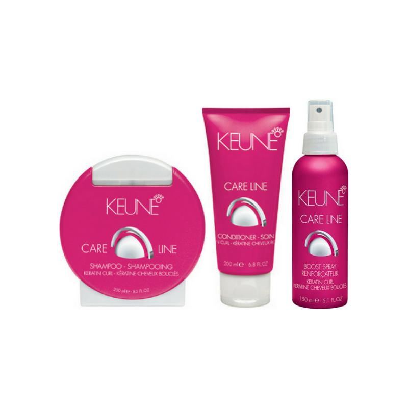 Keune Care Line Keratin Curl Boost Pack