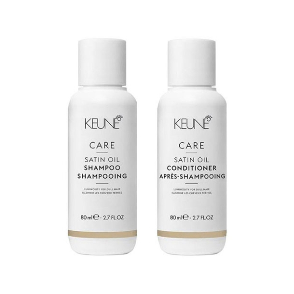 Keune Care Satin Oil Travel Duo