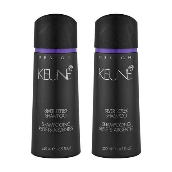 Keune Design Silver Reflex Shampoo 250ml x 2
