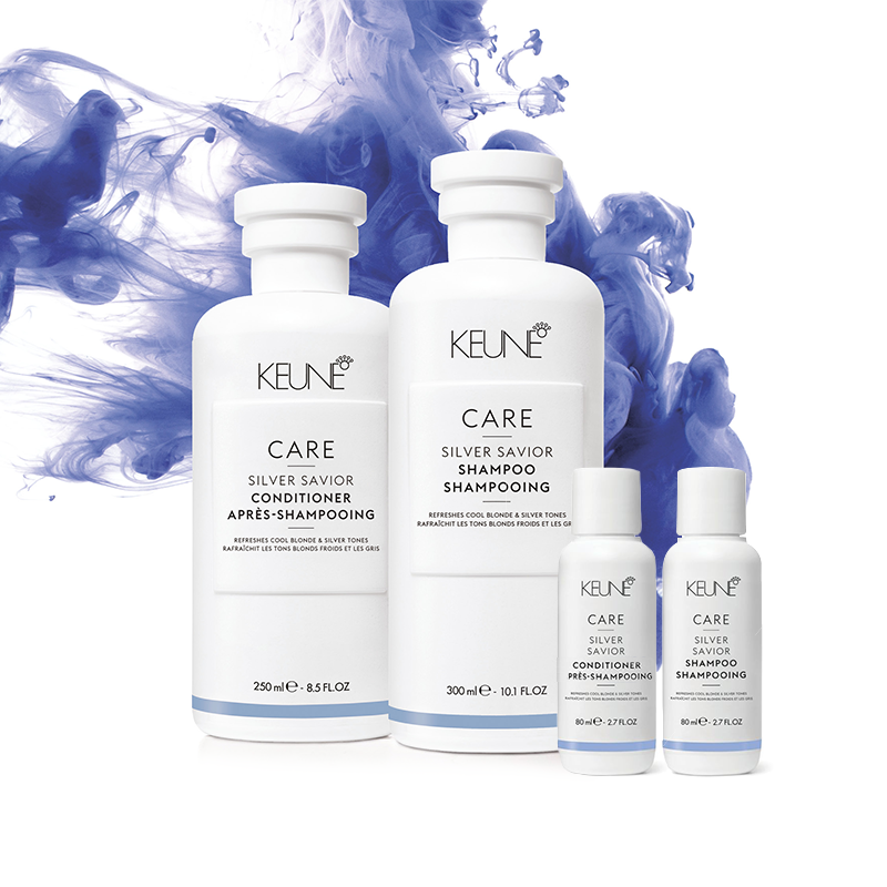 Keune Care Silver Saviour Home & Away Pack