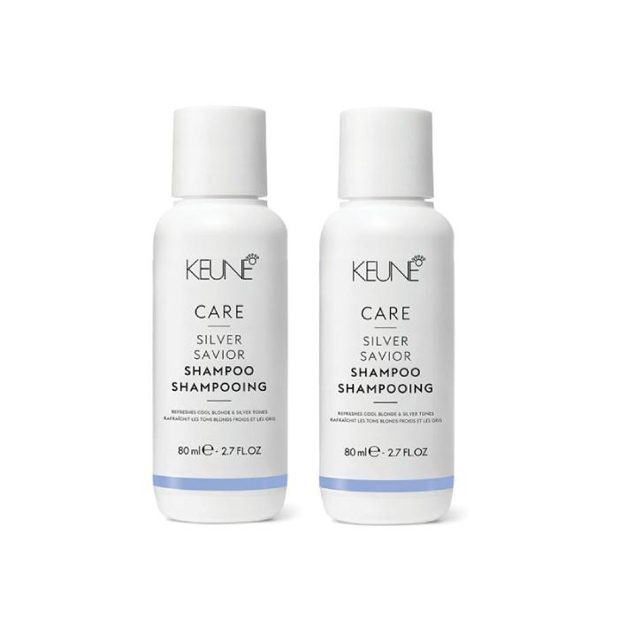 Keune Care Silver Saviour Shampoo 80ml Duo