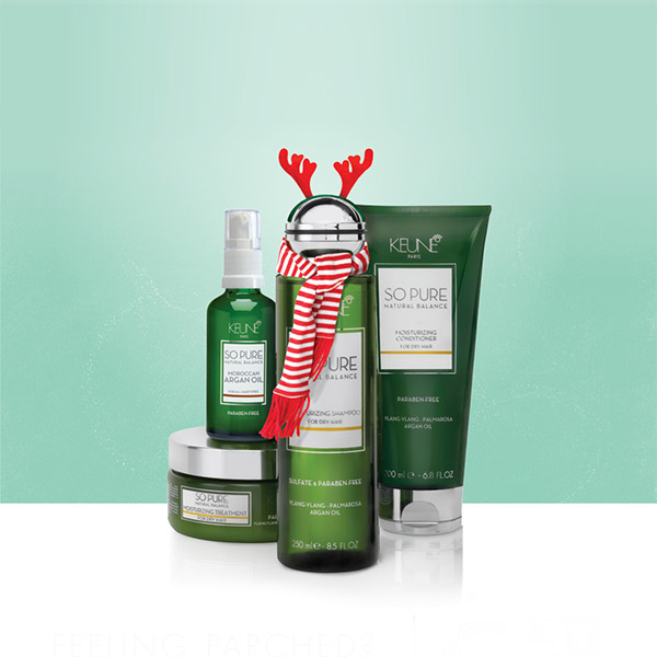Keune So Pure Moisturizing Xmas Pack
