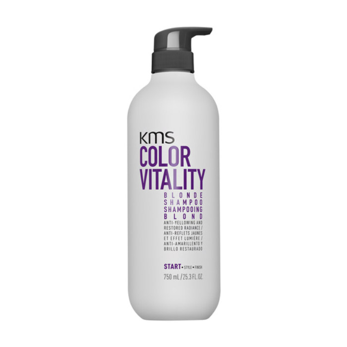 KMS Color Vitality Blonde Shampoo 750ml