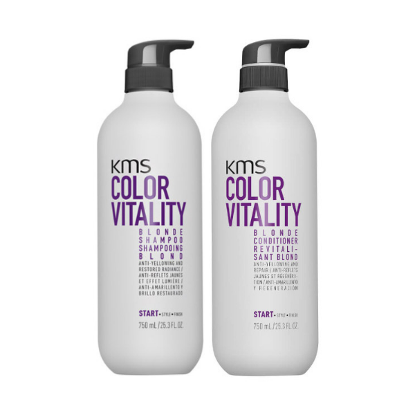 KMS Color Vitality Blonde 750ml Duo