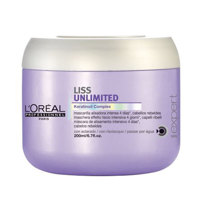 L'Oreal Liss Unlimited Masque 200ml