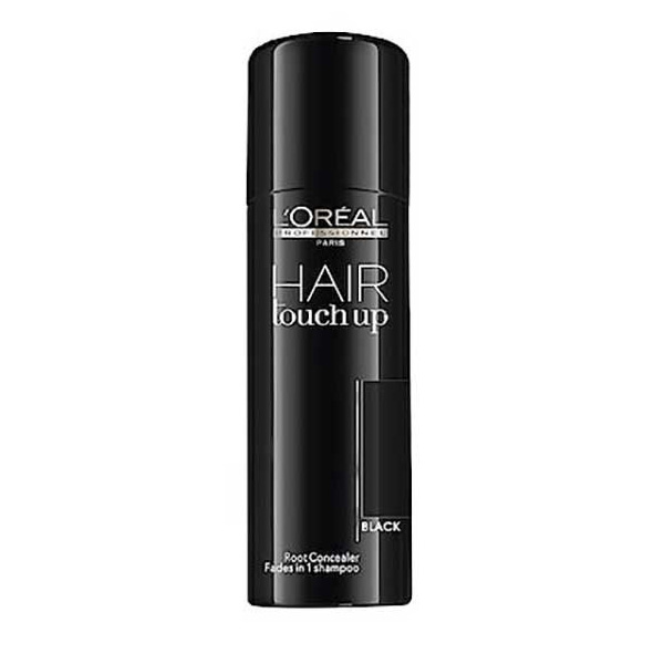 L'Oreal Professional Hair Touch Up Root Concealer Black 75ml