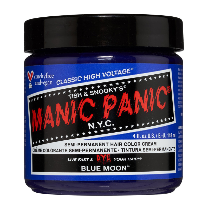 Manic Panic Hair Color Cream Blue Moon 118ml