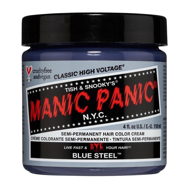 Manic Panic Hair Color Cream Blue Steel 118ml