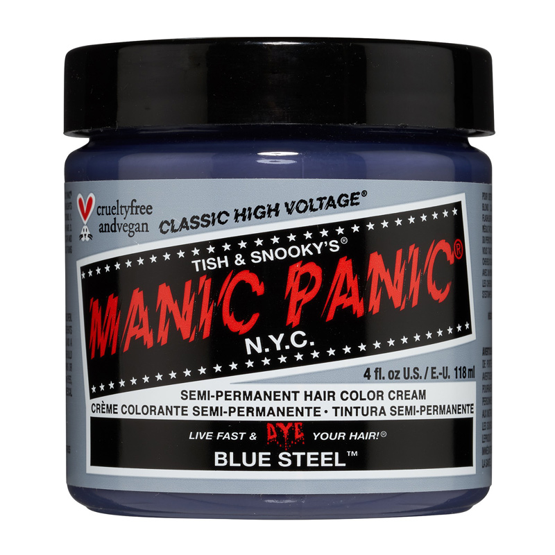 Manic Panic Hair Color Cream Blue Steel 118ml