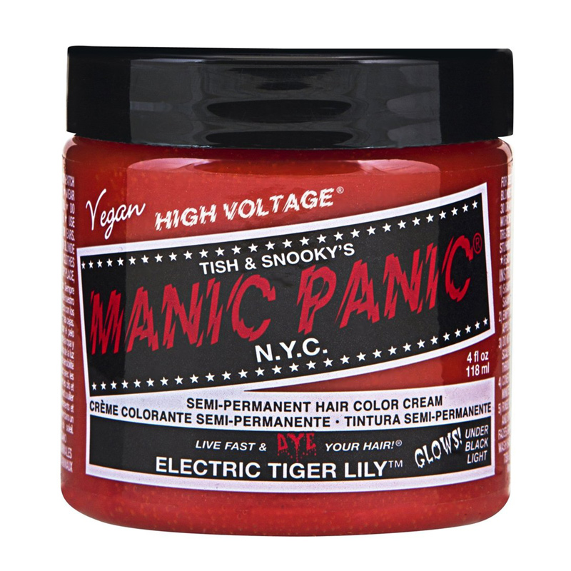 Manic Panic Hair Color Cream Electric Tiger Lily 118ml
