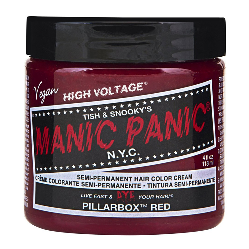Manic Panic Hair Color Pillarbox Red 118ml
