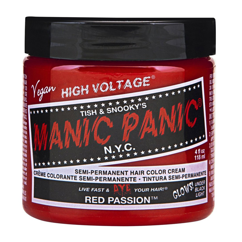 Manic Panic Hair Color Red Passion 118ml