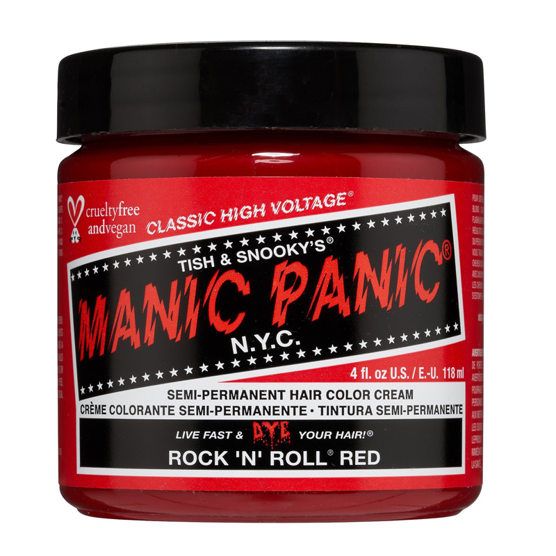 Manic Panic Hair Color Rock 'n' Roll Red 118ml