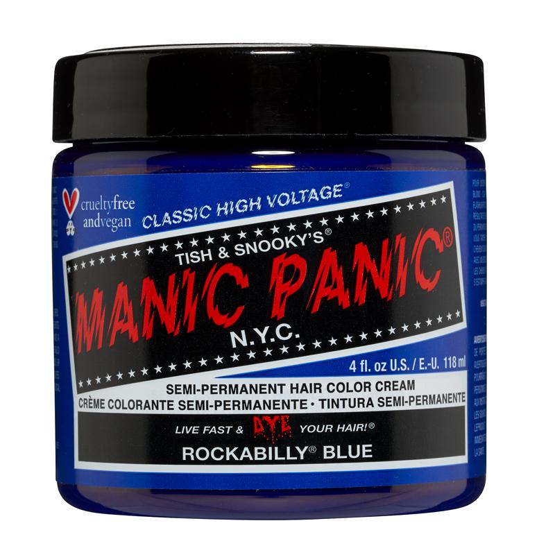 Manic Panic Hair Color Rockabilly Blue 118ml