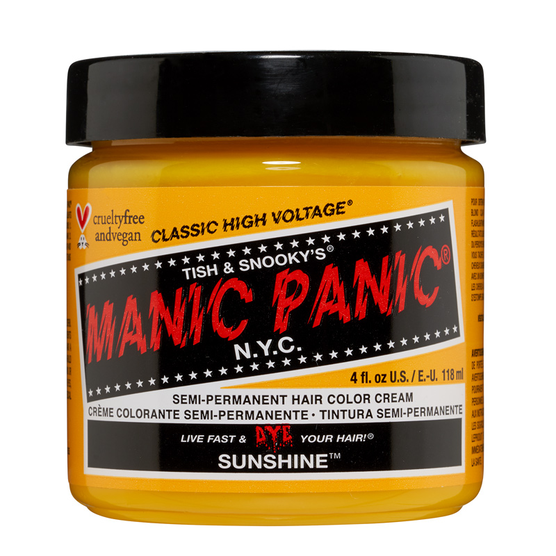 Manic Panic Hair Color Sunshine 118ml