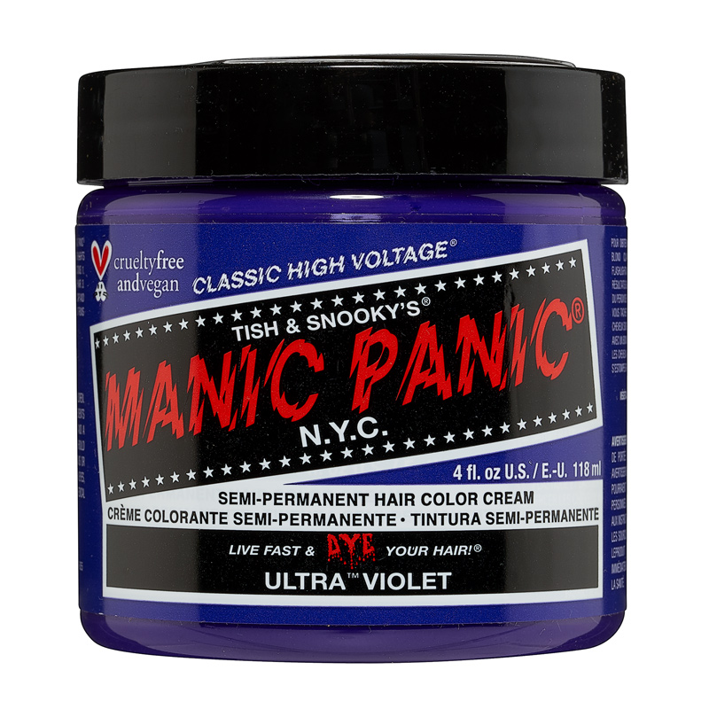 Manic Panic Hair Color Ultra Violet 118ml