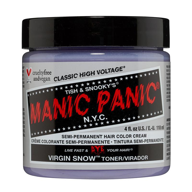Manic Panic Hair Color Virgin Snow White Toner 118ml