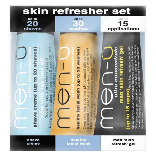 Men-u Skin Refresher Set (3x15ml buddy tubes)