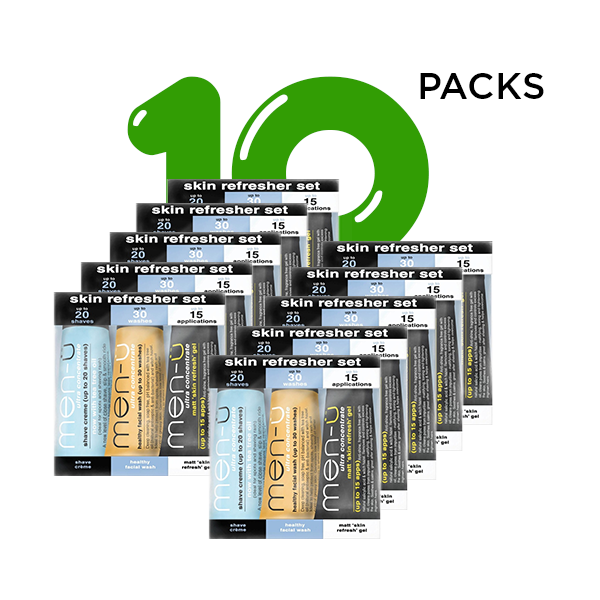 Men-u Skin Refresher Set 10 pack