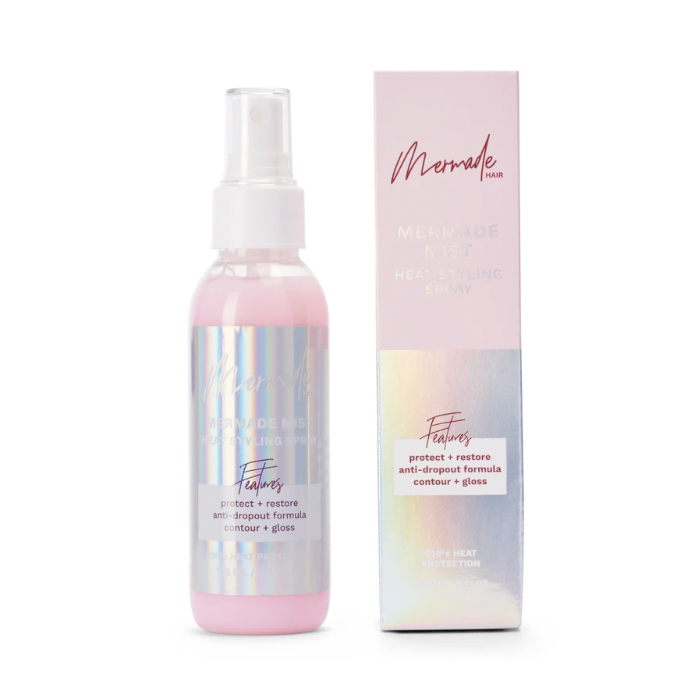 Mermade Hair Mist Heat Styling Spray 125ml